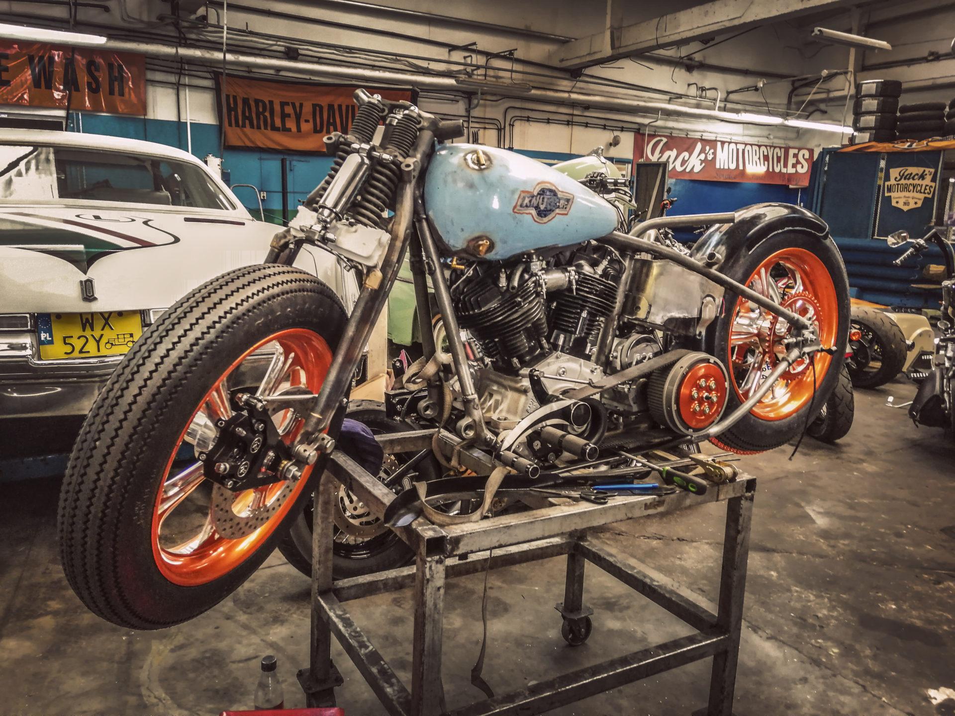 Jack's motorcycle - najlepszy serwis Harley - Davidsona w Warszawie